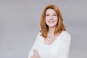 Moderatorin Manuela Stamm